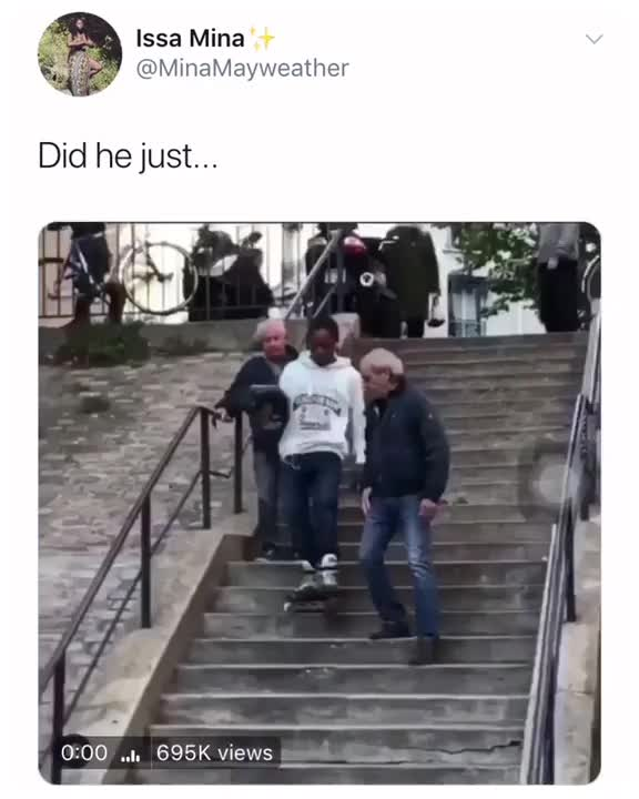 Watch The way he rolls down the stairs GIF on Gfycat. Discover more rollerblade, stairs GIFs on Gfycat