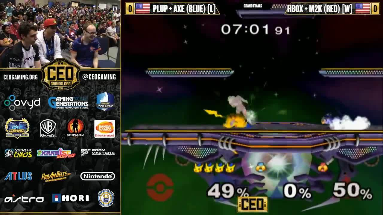 ceo, m2kgifs, melee, Mew2King attacks Axe IRL at CEO 2016 GIFs
