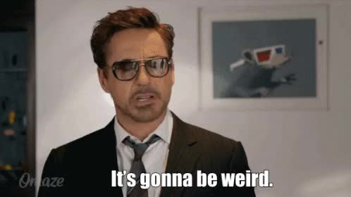Watch this robert downey jr GIF on Gfycat. Discover more odd, robert downey jr, weird GIFs on Gfycat