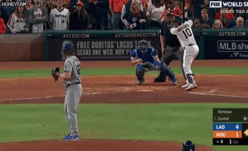 Watch and share Los Angeles Dodgers GIFs and Houston Astros GIFs by e3e3e1 on Gfycat