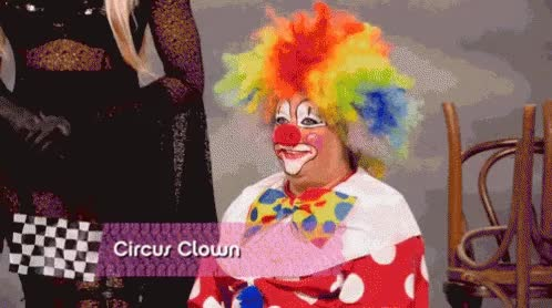 Watch and share Clown GIFs on Gfycat