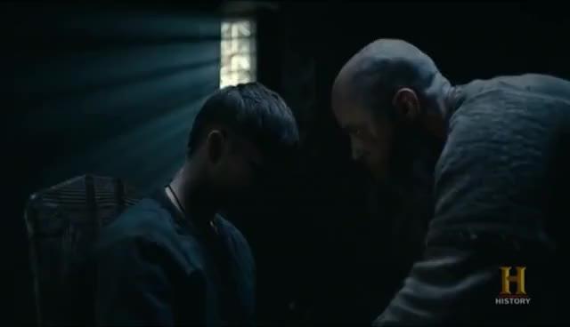 Watch Vikings 4x15 Ragnar Tells Ivar To Seek Revenge On King Ecbert GIF on Gfycat. Discover more related GIFs on Gfycat