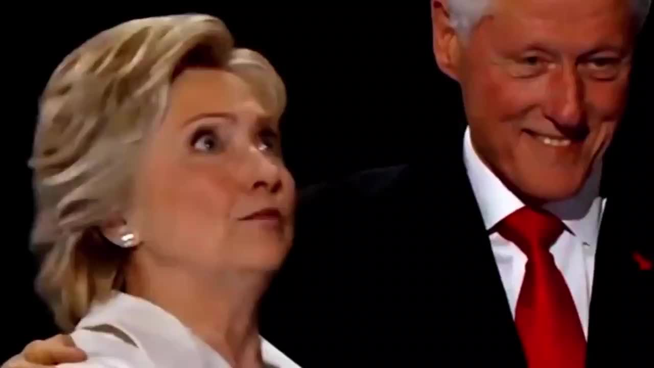 Bill Clinton, Hillary Clinton, crazy, face, hillary, mouth, no way, omg, open, seriously, surprised, Crazy reaction GIFs