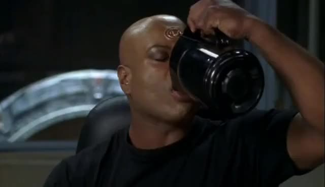 Watch this drinking GIF on Gfycat. Discover more SG-1, Steargate, Teal'c, drinking, sg-1, steargate, teal'c, thirsty GIFs on Gfycat