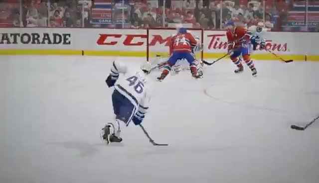 NHL 17   BE A REF MODE   REFutation Engine GIFs