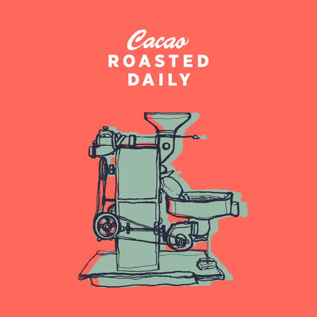 Watch and share Maison Marou Illustrated Gif Of The Roaster. Created By Rice Creative GIFs on Gfycat