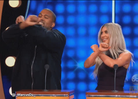 celebrity, celebs, kanye west, Kanye West Kim Kardashian GIFs
