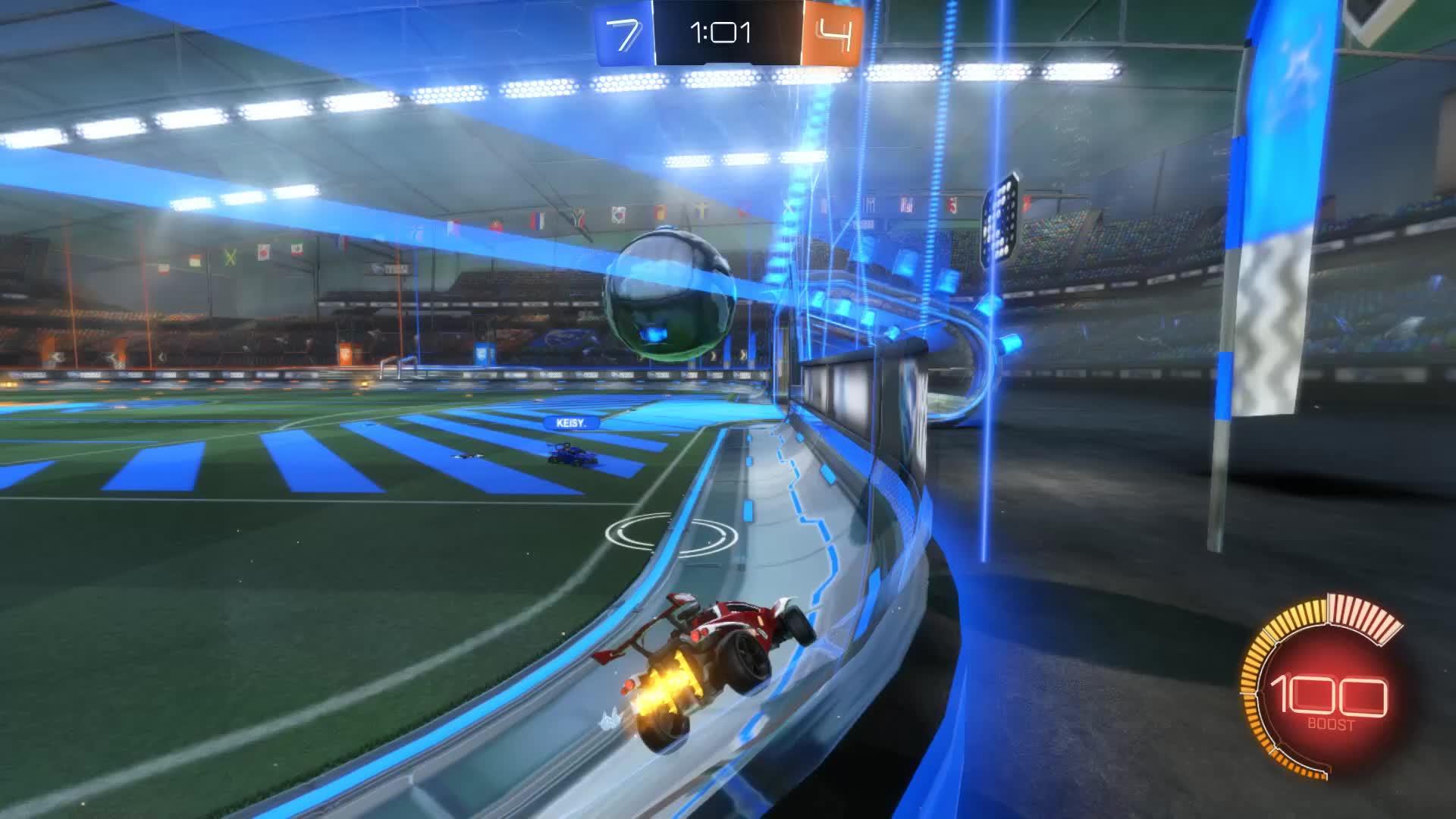 Gif Your Game, GifYourGame, Goal, How'd, Rocket League, RocketLeague, ⏱️ Goal 12: How'd GIFs