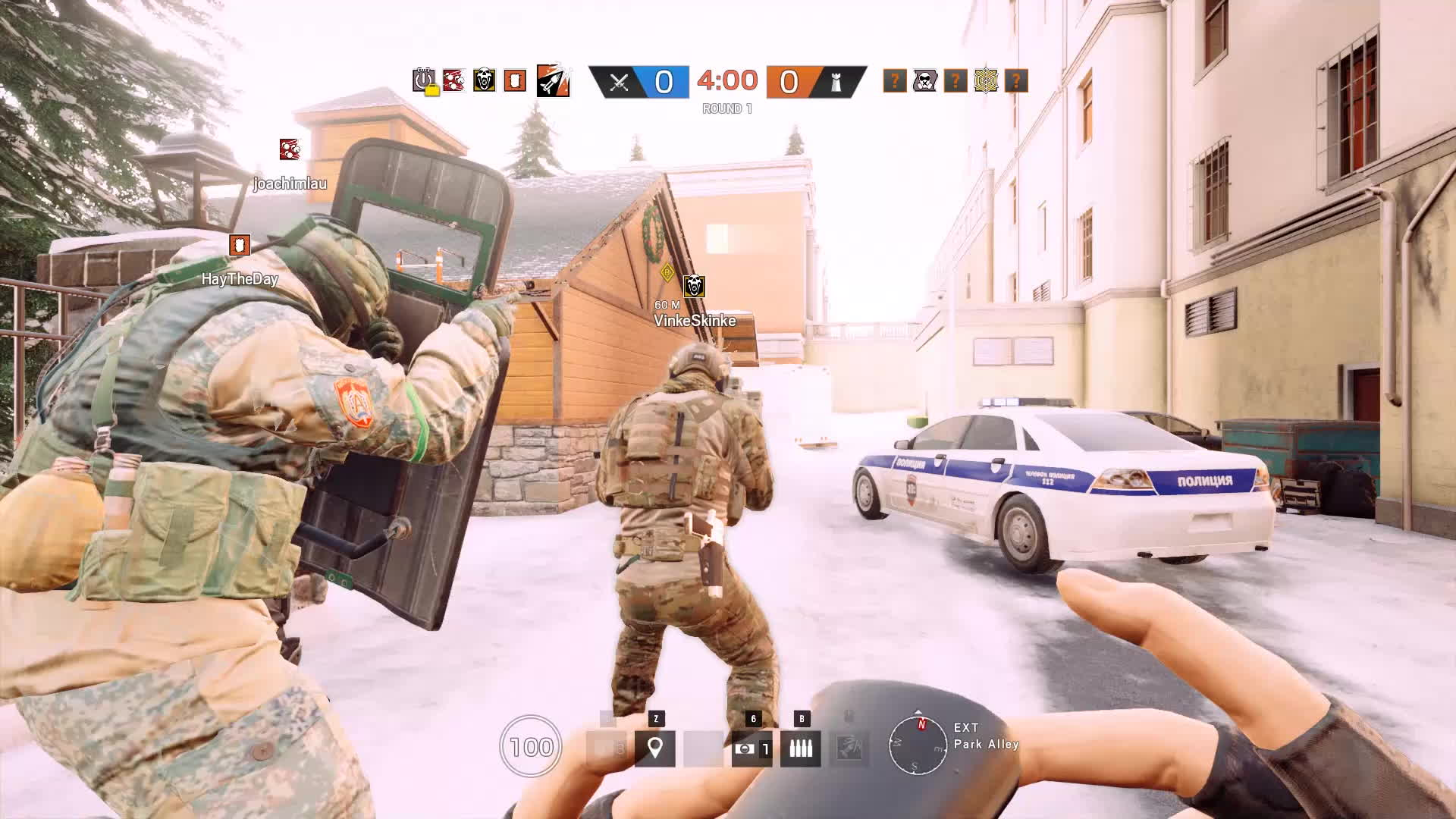 Rainbow6, rainbowsixsiege, When the enemy team forget that they are defending... GIFs