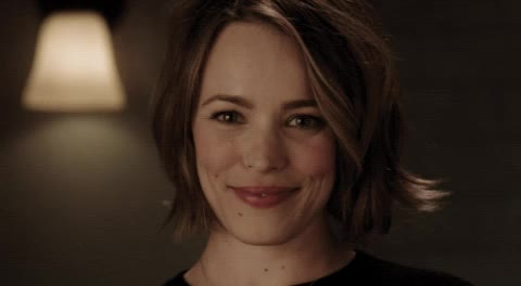cute, cute smile, game night, happy smile, rachel mcadams, smile, smiling, Game Night - Smile GIFs