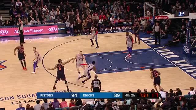 Watch and share Detroit Pistons GIFs and New York Knicks GIFs by Mike Snyder on Gfycat