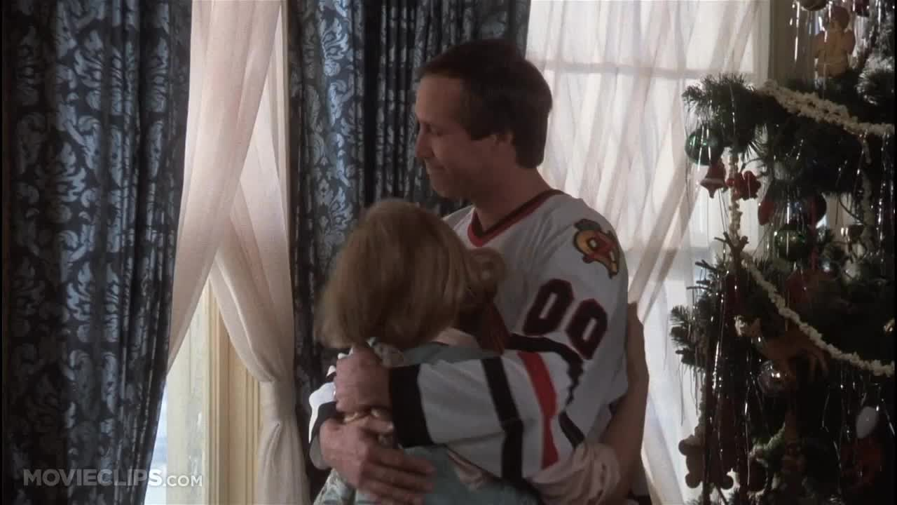 Christmas Vacation (7 10) Movie CLIP - Eddie's Sewage (1989) HD GIFs