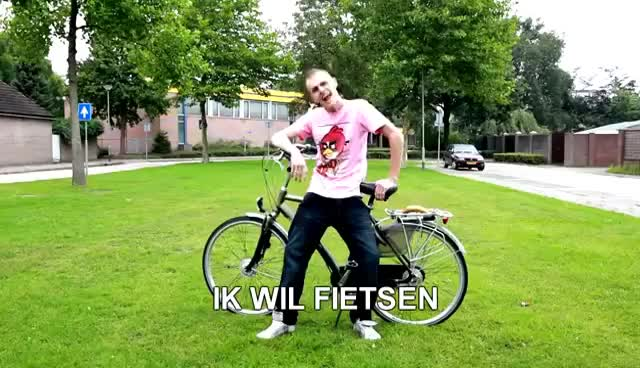 "Watch and share ""IK WIL FIETSEN"" - The Breakz - Let's Go (PARODIE) GIFs on Gfycat"