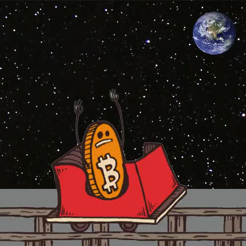 Watch and share - Bitcoin Roller Coaster Gif Meme By Brainless Tales @brainlesstales GIFs on Gfycat