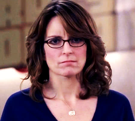 I, confused, confusion, disgust, ew, fey, for, hmm, it, no, see, surprise, surprised, think, thinking, tina, tina fey, wait, what, Tina is confused GIFs