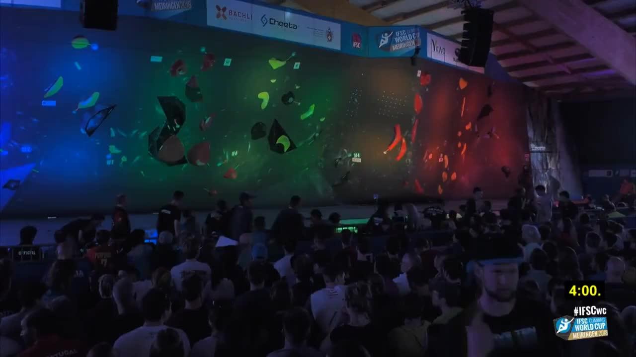 2018, All Tags, Final, Switzerland, bouldering, climbing, cup, ifsc, ifscwc, meiringen, recap, sport, world, IFSC Climbing World Cup Meiringen 2018 - Bouldering - Finals - Men/Women GIFs
