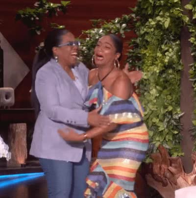 Watch Tiffany Haddish Meeting Oprah GIF by The GIF Smith (@sannahparker) on Gfycat. Discover more ellen show, oprah, tiffany haddish GIFs on Gfycat