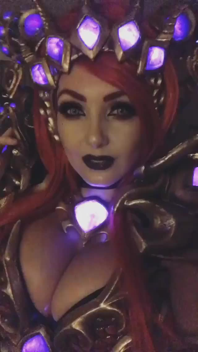 Watch and share Jessica Nigri GIFs and Cleavage GIFs on Gfycat