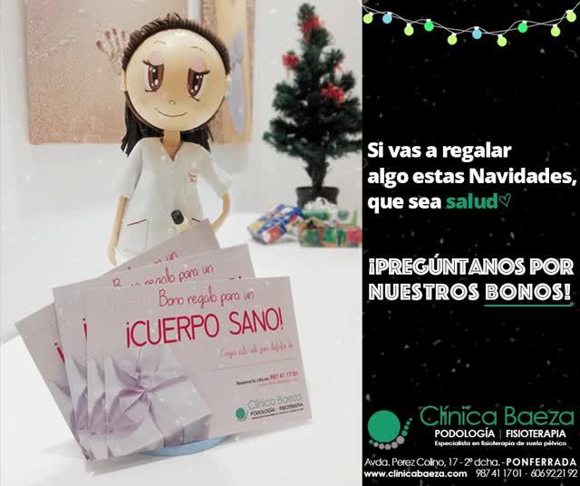 Watch and share Clinica Baeza Navidad Bono Regalo Fisioterpia Salud Podologia GIFs on Gfycat