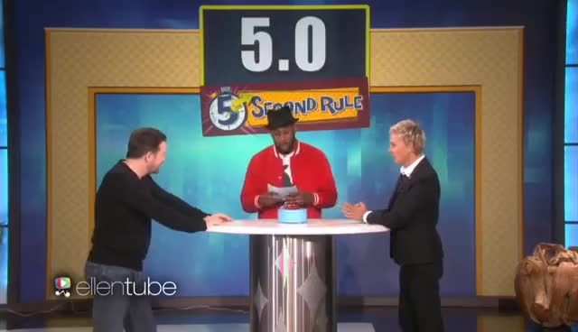 Watch 5 Second Rule Rematch with Ricky Gervais GIF on Gfycat. Discover more related GIFs on Gfycat