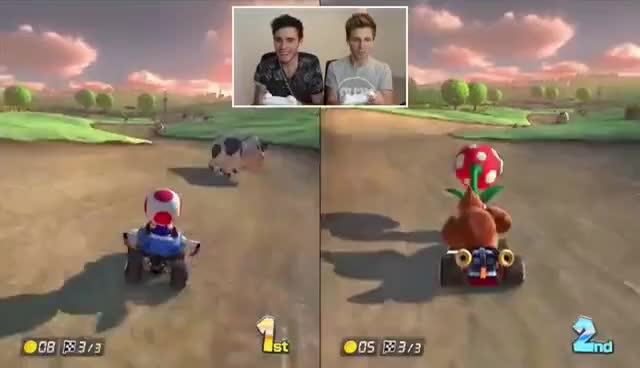 Watch and share Mario Kart GIFs and Marcus GIFs on Gfycat