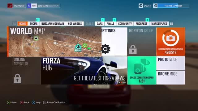 Amjad Ayman, ForzaHorizon3, xbox GIF by Gamer DVR (@xboxdvr