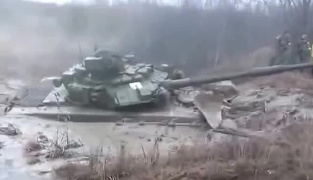 Watch and share Russian Tank T 90 [1000HP] Stuck In The Mud GIFs on Gfycat