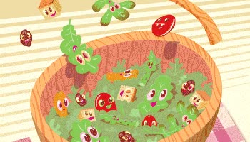 Watch and share TOSSED SALAD Animation GIFs on Gfycat