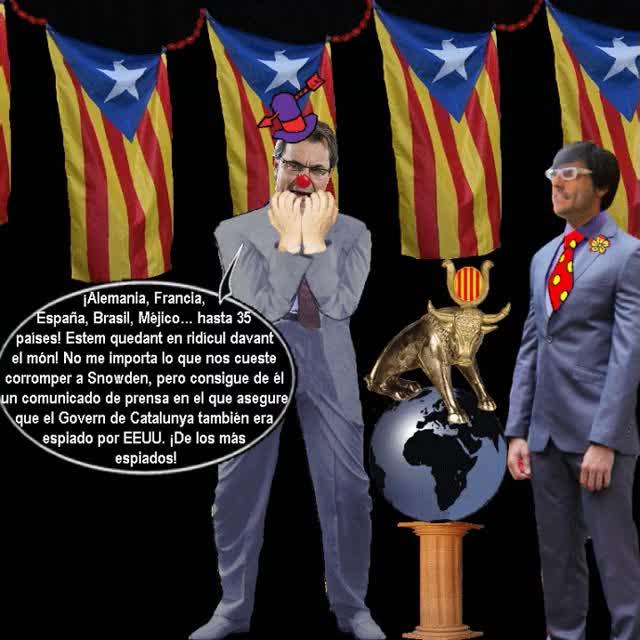 ANIMADO Obama hace de menos la Gran Catalonia no espiandola