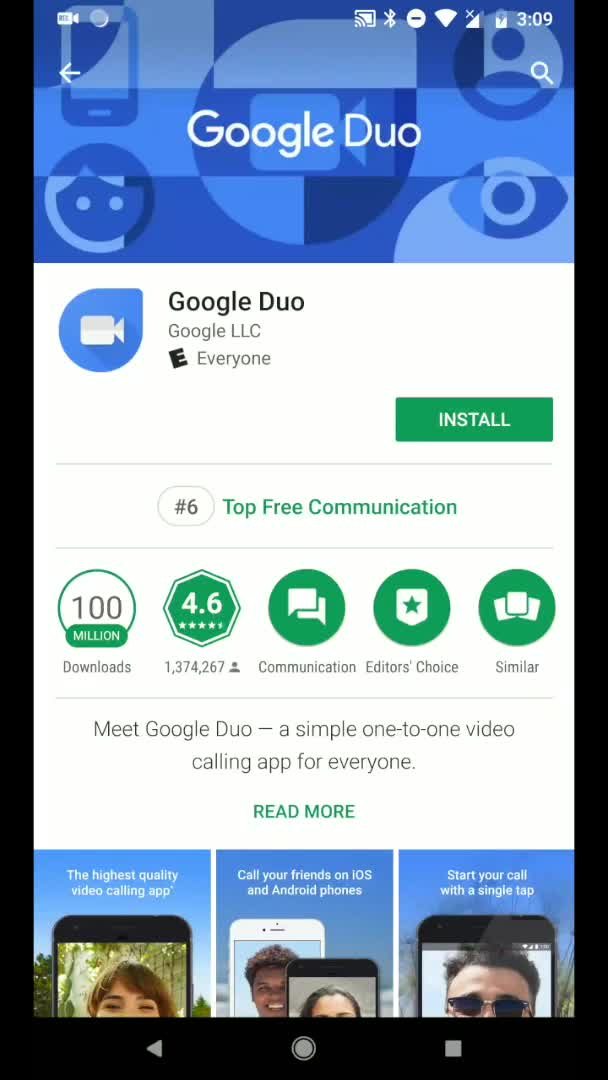 Google Duo calls work even when your contact doesn't have