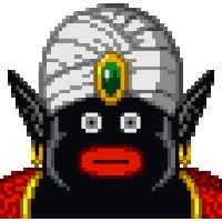 Watch and share Dende & Mr Popo Photo: Mr. Popo Mr-popo-01.gif animated stickers on Gfycat