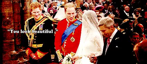 Watch and share You Look Beautiful GIFs and Kate And William GIFs on Gfycat