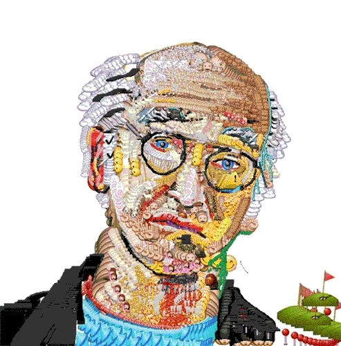 Deep Dream, GIF, Jona Bechtolt, Larry David, Yung Jake, deepdream, emoji, emojiniggas, inceptionism, larrydavid, yungjake, Larry David Emoji Inceptionism GIFs