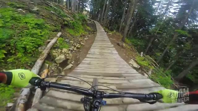 Watch and share Blue Velvet // Whistler Mountain Bike Park GIFs on Gfycat