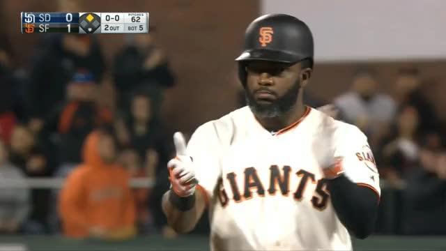 Watch Span pointing (alternate) GIF by @justrynahelp on Gfycat. Discover more mlb, sfgiants GIFs on Gfycat
