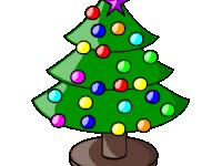 Watch and share Christmas Tree animated stickers on Gfycat