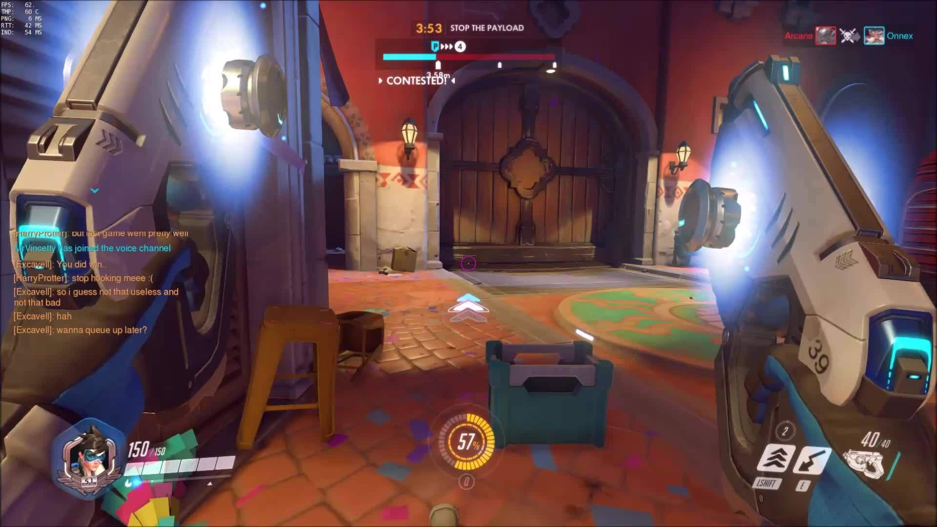 overwatch, worldnews, Just aim at Roadhog's belly and you will get a headshot (reddit) GIFs