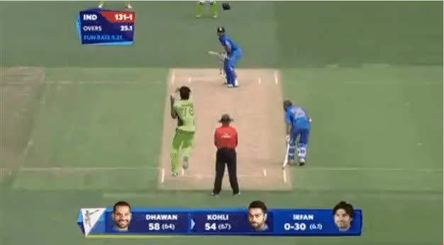 Watch and share Kohli-Afridi Bhai Bhai GIFs on Gfycat