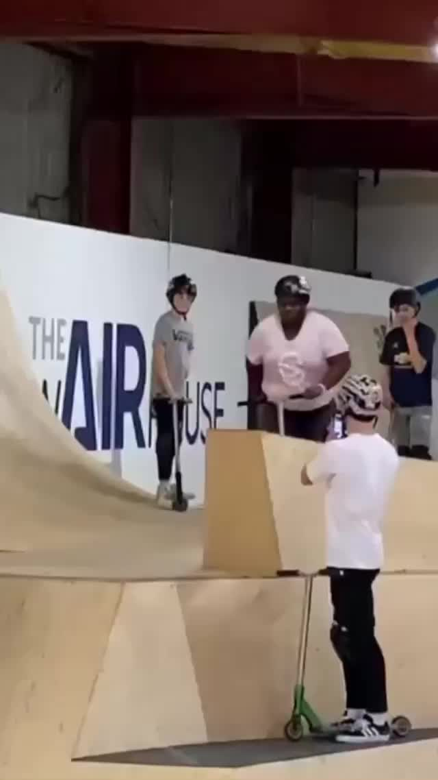 Watch and share Big Guy Scooter Backflip GIFs by Boojibs on Gfycat