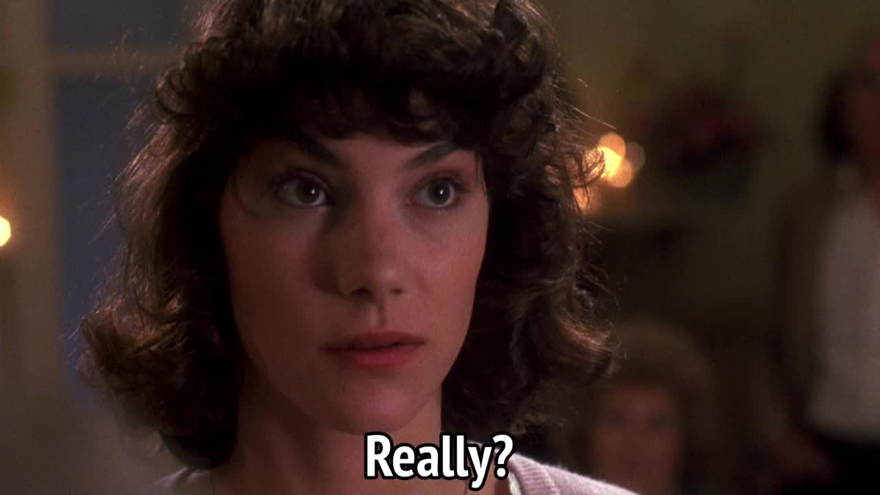 critters, critters 2, doubt, really, really?, you mean that?, you serious?, Critters 2 - Really? GIFs