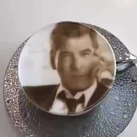 attractive skill 🌟, coffeeart, jamesbond, morningcoffee, piercebrosnan, spoon, stir, Bond, James Bond By @piercebrosnanofficial . Follow @attractive_skill . GIFs