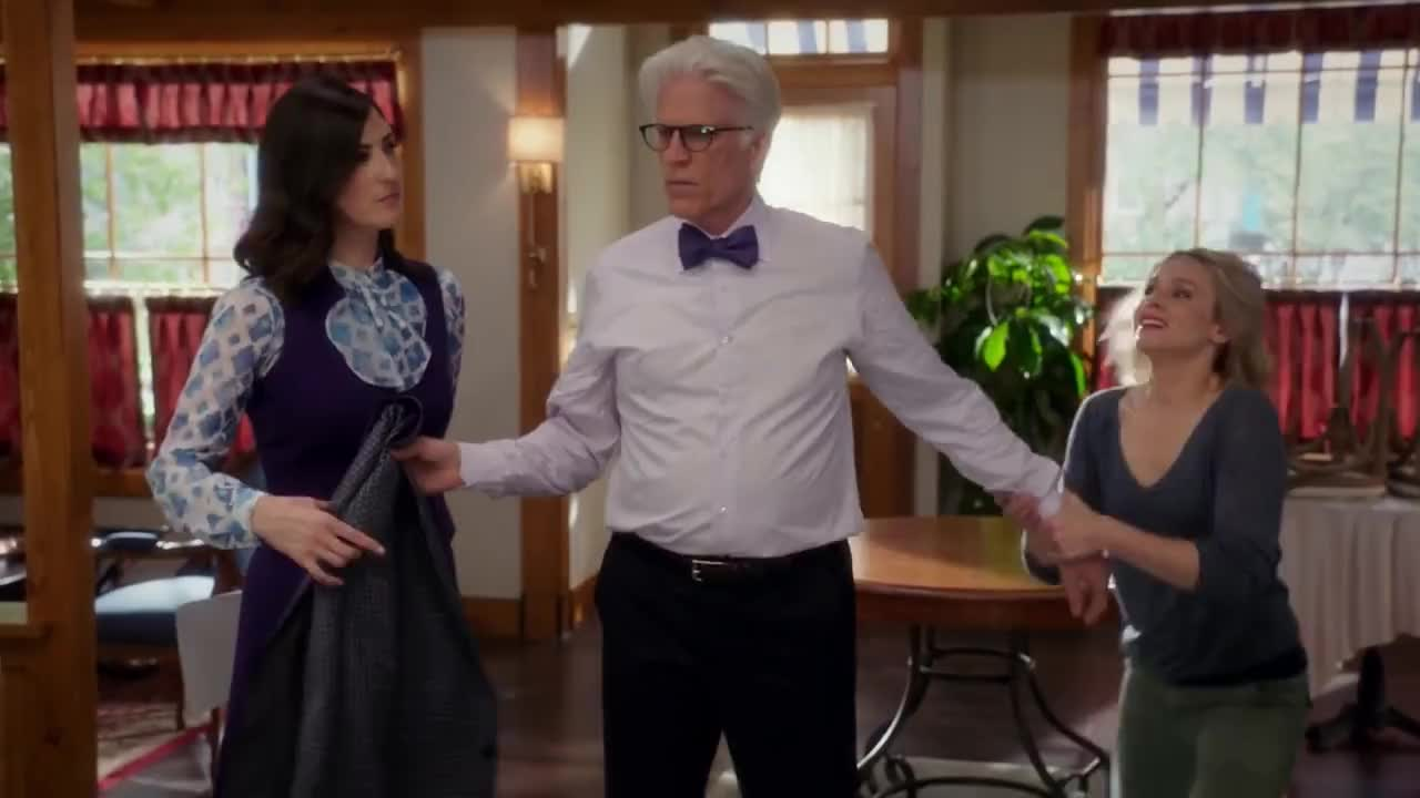comedy, d'arcy carden, kristen bell, ted danson, the good place, thegoodplace, The Good Place GIFs