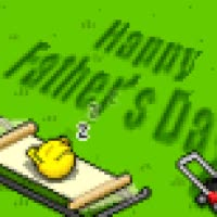 Watch and share Fathers Day Happy Relax Relaxing Hammock Lawn Mower Grass Icon Icons Emoticon Emoticons Smilie Smilies Smiley Smileys Animated Animation Ani GIFs on Gfycat