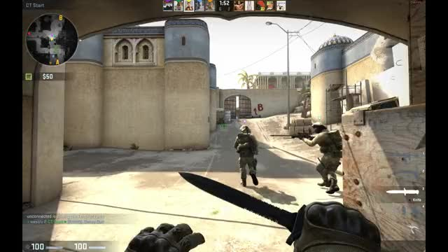 Watch and share CS:GO B Corner Glitch GIFs by rudolphz on Gfycat