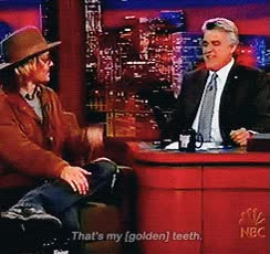 Watch and share Johnny Depp GIFs and Jay Leno GIFs on Gfycat