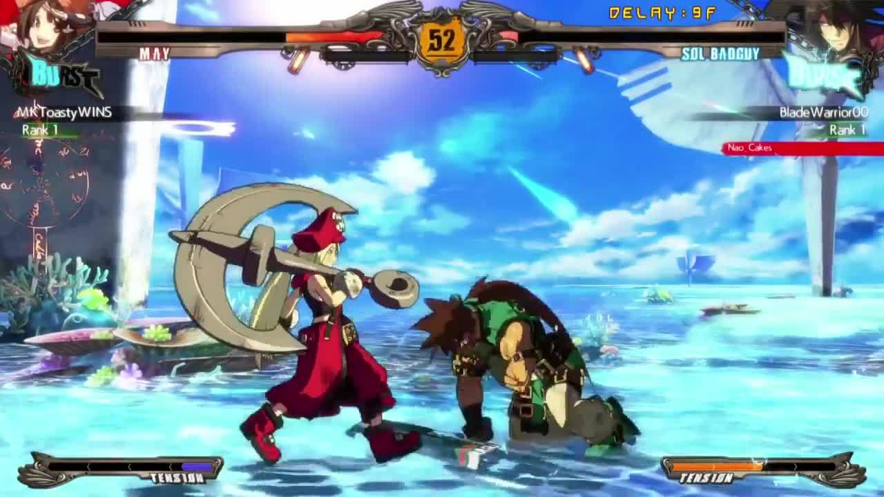 guilty gear, DRAGOON INSTALLU GIFs