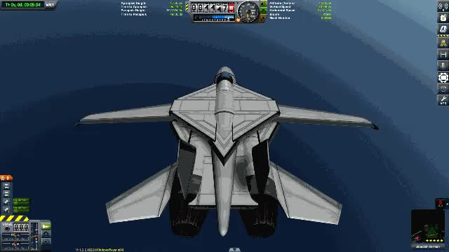 Watch [Stock] Grumman F-14 Tomcat with automatic swing-wings GIF on Gfycat. Discover more related GIFs on Gfycat