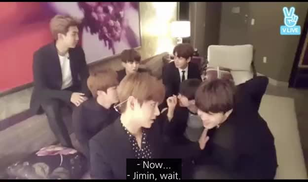 """Watch [ENG SUB ~ BTS At The BBMA'S] """"고마워요 아미! Top Social A.R.M.Y!"""" V LIVE! GIF on Gfycat. Discover more related GIFs on Gfycat"""