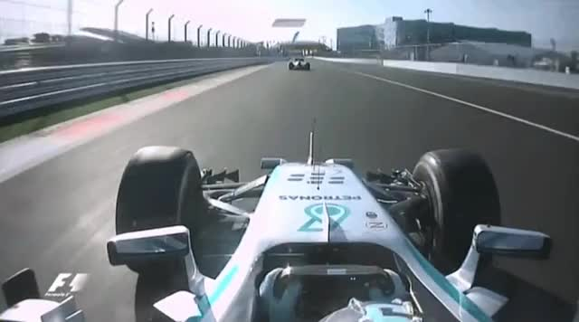 Watch and share Rosberg Takes 2nd From Bottas. 2014. GIFs by aamantubillah on Gfycat