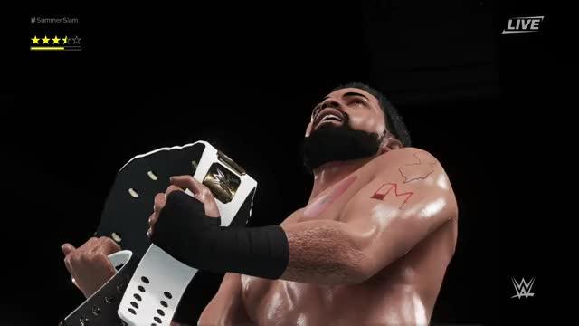 Watch Champion! GIF by Xbox DVR (@xboxdvr) on Gfycat. Discover more WWE2K18, p o g life0612, xbox, xbox dvr, xbox one GIFs on Gfycat